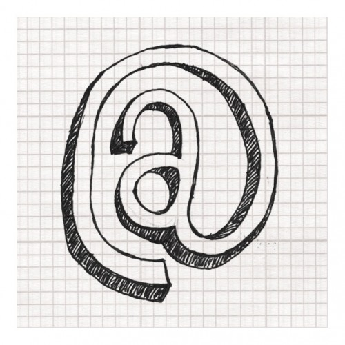 Hand-drawn typeface